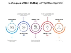 Techniques Of Cost Cutting In Project Management Ppt PowerPoint Presentation Outline Graphics Download