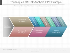 Techniques Of Risk Analysis Ppt Example