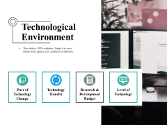 Technological Environment Ppt PowerPoint Presentation Portfolio Show