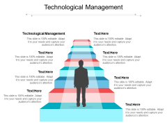 Technological Management Ppt PowerPoint Presentation File Aids Cpb Pdf