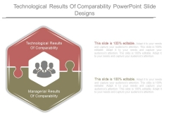 Technological Results Of Comparability Powerpoint Slide Designs