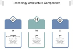 Technology Architecture Components Ppt PowerPoint Presentation Portfolio Gallery Cpb Pdf