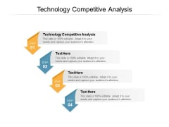 Technology Competitive Analysis Ppt PowerPoint Presentation Infographic Template Guidelines Cpb