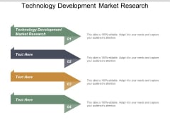 Technology Development Market Research Ppt PowerPoint Presentation Infographics Display Cpb