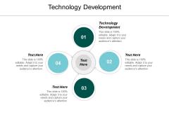 Technology Development Ppt PowerPoint Presentation Layouts Slides Cpb