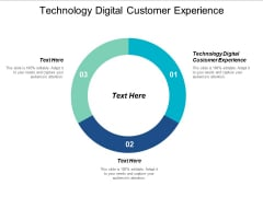 Technology Digital Customer Experience Ppt PowerPoint Presentation Gallery File Formats Cpb