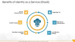 Technology Guide For Serverless Computing Benefits Of Identity As A Service Idaas Summary PDF