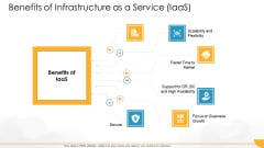 Technology Guide For Serverless Computing Benefits Of Infrastructure As A Service Iaas Graphics PDF
