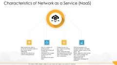 Technology Guide For Serverless Computing Characteristics Of Network As A Service Naas Elements PDF
