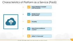 Technology Guide For Serverless Computing Characteristics Of Platform As A Service Paas Topics PDF