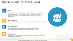 Technology Guide For Serverless Computing Disadvantages Of Private Cloud Cost Background PDF