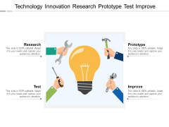 Technology Innovation Research Prototype Test Improve Ppt PowerPoint Presentation Icon Slides