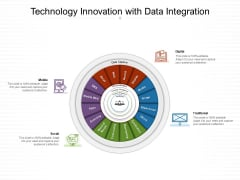 Technology Innovation With Data Integration Ppt PowerPoint Presentation Gallery Elements PDF