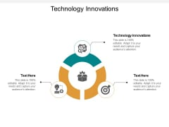 Technology Innovations Ppt PowerPoint Presentation Inspiration Ideas Cpb