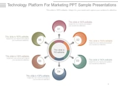 Technology Platform For Marketing Ppt Sample Presentations
