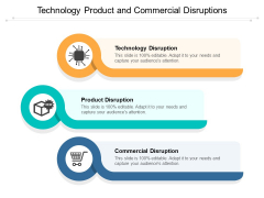 Technology Product And Commercial Disruptions Ppt Powerpoint Presentation Styles Graphic Images