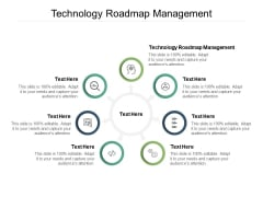 Technology Roadmap Management Ppt PowerPoint Presentation Model Show Cpb