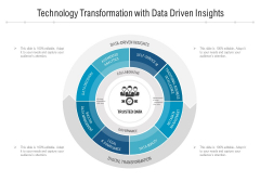 Technology Transformation With Data Driven Insights Ppt PowerPoint Presentation File Samples PDF