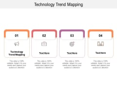 Technology Trend Mapping Ppt PowerPoint Presentation Inspiration Tips Cpb