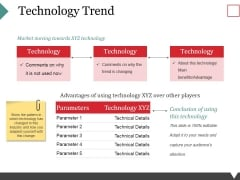 Technology Trend Ppt PowerPoint Presentation Layouts Infographic Template