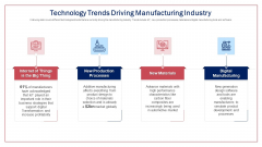 Technology Trends Driving Manufacturing Industry Mockup PDF