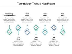 Technology Trends Healthcare Ppt PowerPoint Presentation Rules Cpb