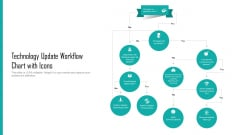 Technology Update Workflow Chart With Icons Ppt Summary Guidelines PDF