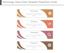 Technology Value Chain Template Powerpoint Guide