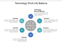 Technology Work Life Balance Ppt PowerPoint Presentation Summary Slides