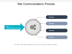 Tele Communications Process Ppt PowerPoint Presentation Gallery Diagrams Cpb