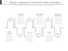Telecom Applications Powerpoint Slides Templates