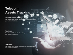 Telecom Assets Tracking Ppt PowerPoint Presentation File Icon Cpb Pdf