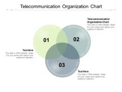 Telecommunication Organization Chart Ppt PowerPoint Presentation Slides Guide Cpb Pdf