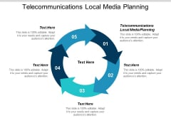 Telecommunications Local Media Planning Ppt Powerpoint Presentation Professional Layout Cpb