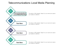 Telecommunications Local Media Planning Ppt PowerPoint Presentation Summary Background