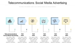Telecommunications Social Media Advertising Ppt PowerPoint Presentation Inspiration Layouts Cpb