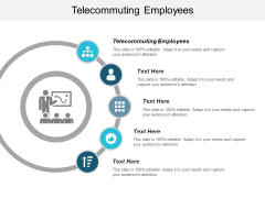 Telecommuting Employees Ppt PowerPoint Presentation Icon Layout