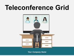 Teleconference Grid Conference Call Cordless Phone Ppt PowerPoint Presentation Complete Deck