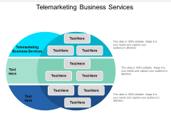 Telemarketing Business Services Ppt Powerpoint Presentation File Grid Cpb