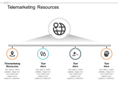 Telemarketing Resources Ppt PowerPoint Presentation Pictures Design Templates Cpb