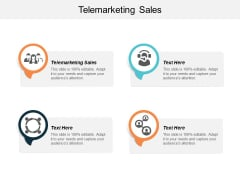 Telemarketing Sales Ppt PowerPoint Presentation Infographic Template Samples Cpb
