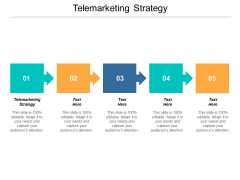 Telemarketing Strategy Ppt PowerPoint Presentation Gallery Ideas Cpb