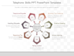 Telephone Skills Ppt Powerpoint Templates