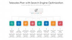 Telesales Plan With Search Engine Optimization Ppt PowerPoint Presentation Professional Slide Portrait PDF