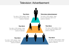 Television Advertisement Ppt PowerPoint Presentation Slides Objects Cpb