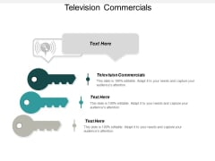 Television Commercials Ppt PowerPoint Presentation Gallery Sample Cpb
