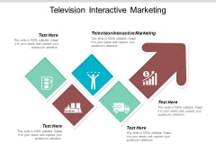 Television Interactive Marketing Ppt PowerPoint Presentation Gallery Structure Cpb