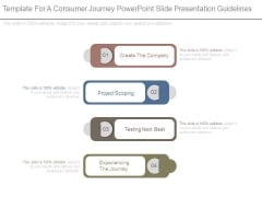 Template For A Consumer Journey Powerpoint Slide Presentation Guidelines