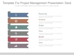 Template For Project Management Presentation Deck