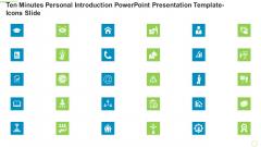 Ten Minutes Personal Introduction PowerPoint Presentation Template Icons Slide Ppt Portfolio Professional PDF